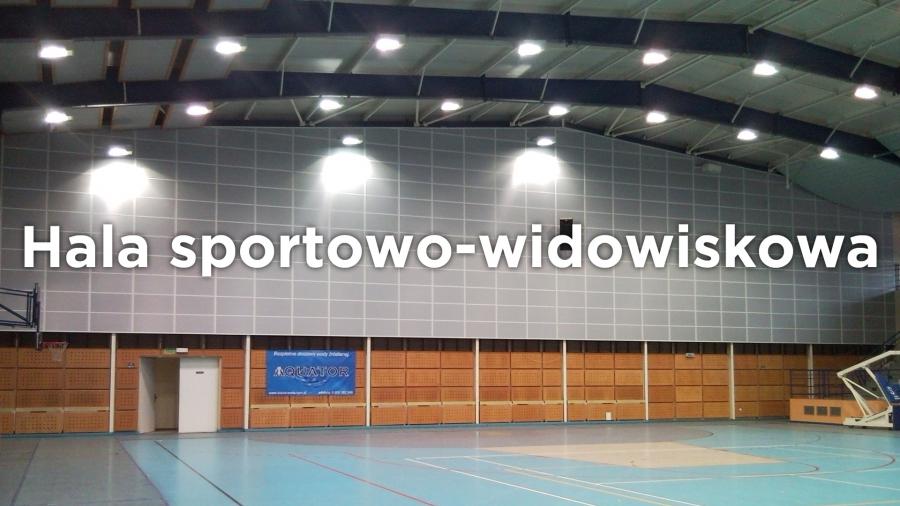 Hala sportowo-widowiskowa w Kępnie