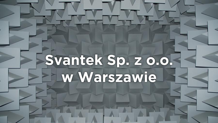 Svantek Sp. z o.o.  w Warszawie