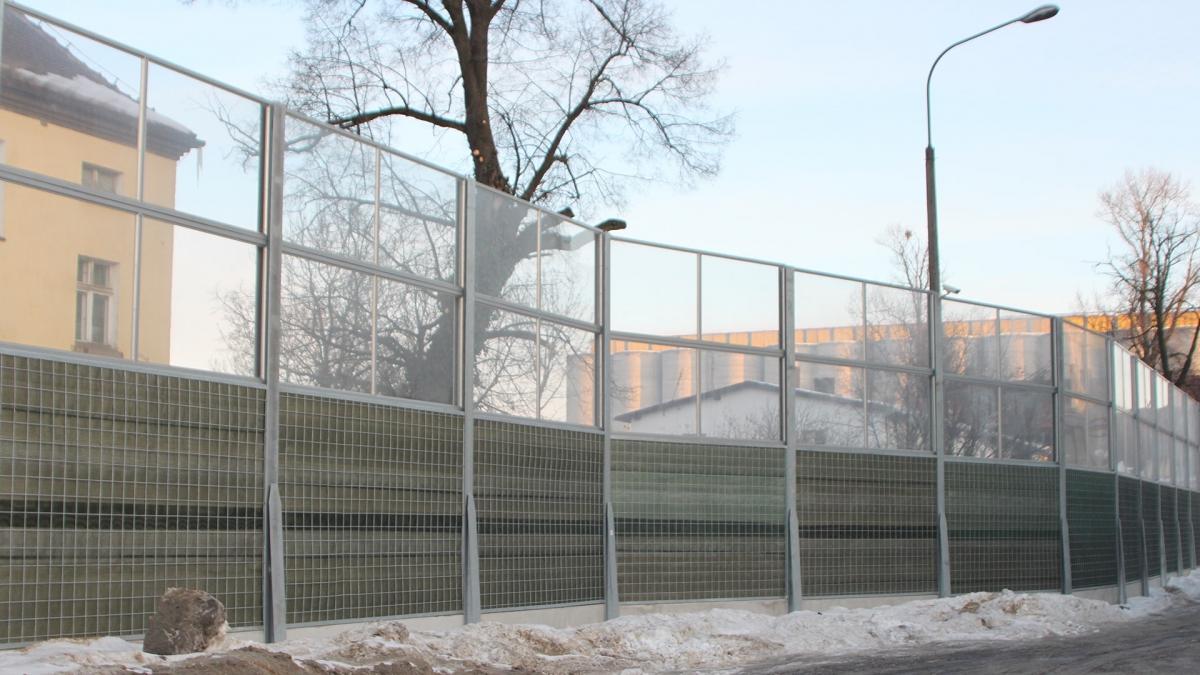 Ekrany - bariery dźwiękochłonne i osłony dźwiękoizolacyjne - LONGAR