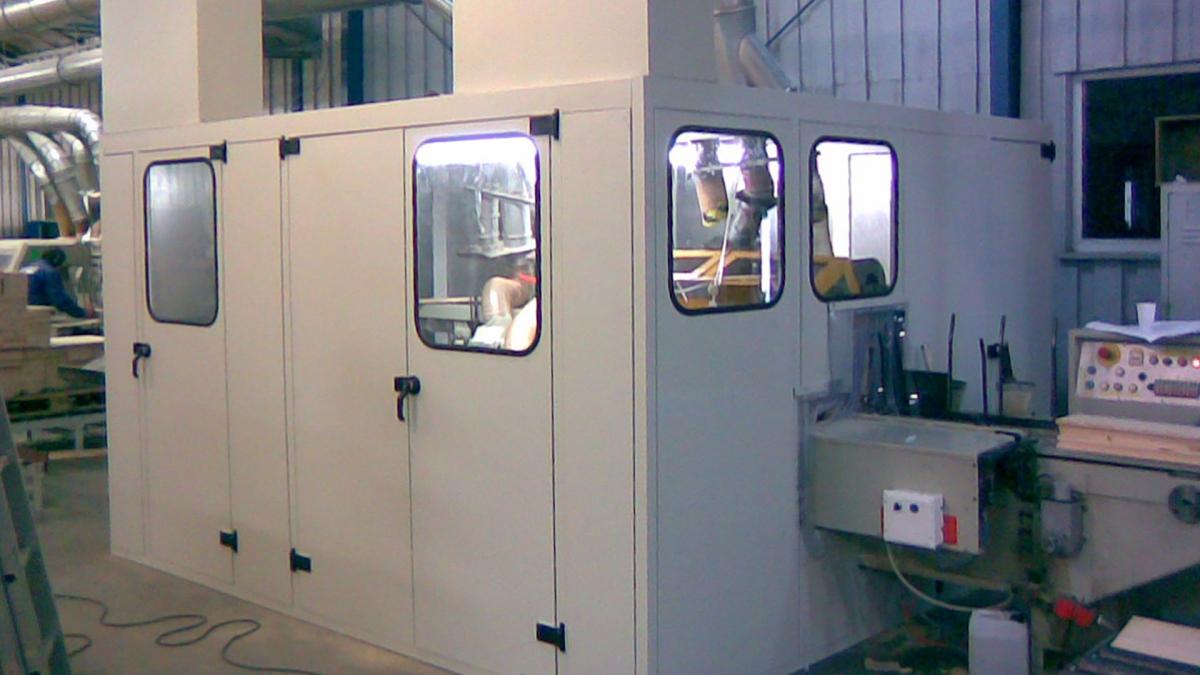 Obudowy akustyczne i kabiny dźwiękochłonne - wyciszenia urządzeń | LONGAR